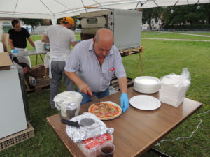 Fête National Val-de-Travers au Parc Girardier Pizza