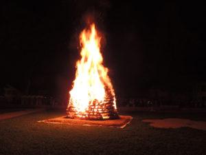 Fête National Val-de-Travers au Parc Girardier le feu du 1mer août 2017